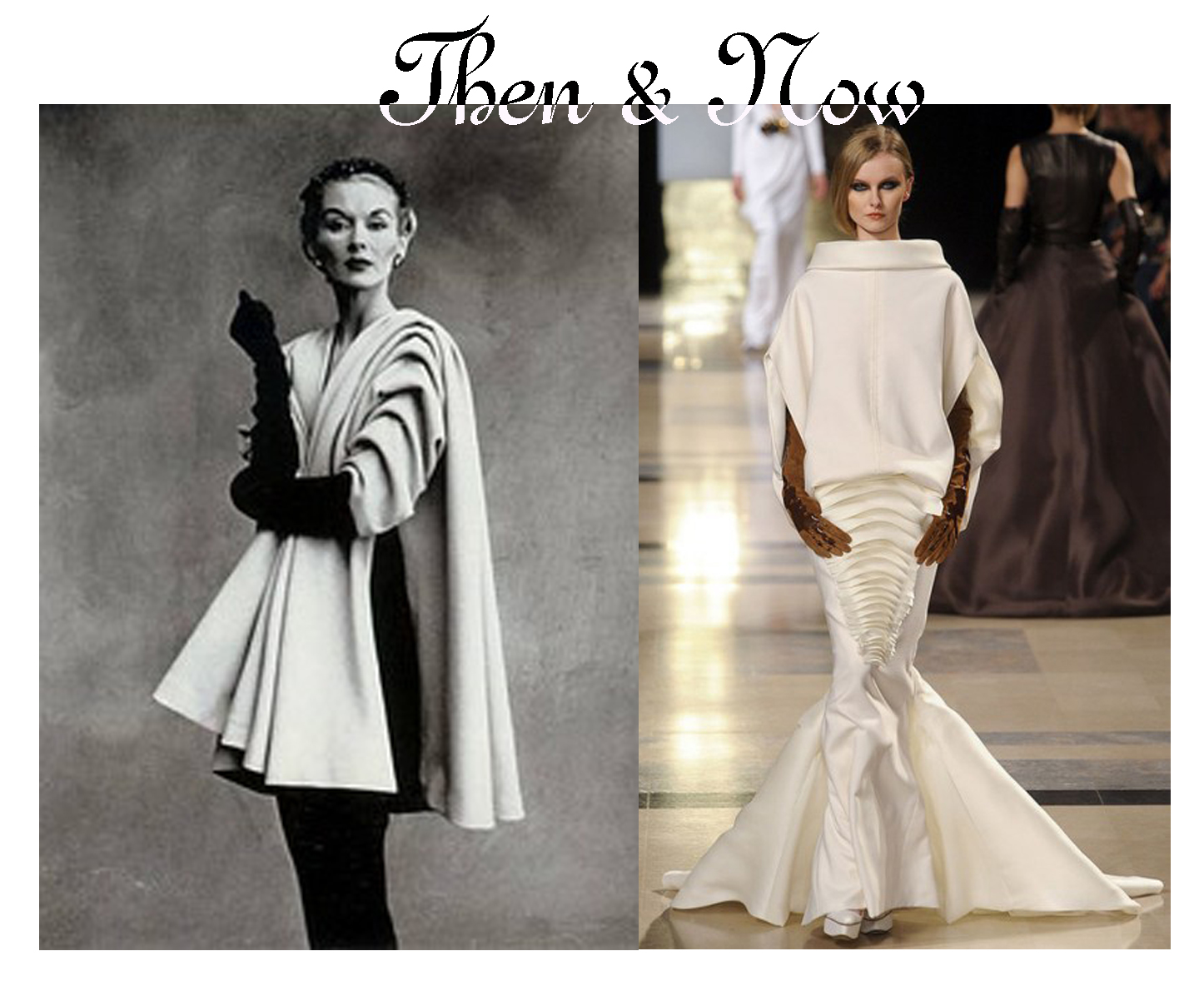 Then now on pins and needles for The history of haute couture