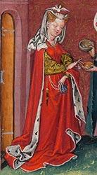 Resultado de imagen de 'Illuminating Fashion: Dress in the Art of Medieval France and the Netherlands'