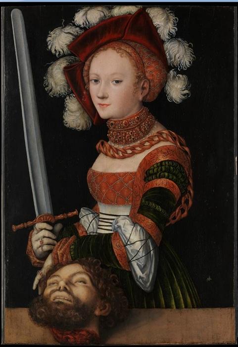The Study of Dress in European Paintings- Lucas Cranach the Elder ...