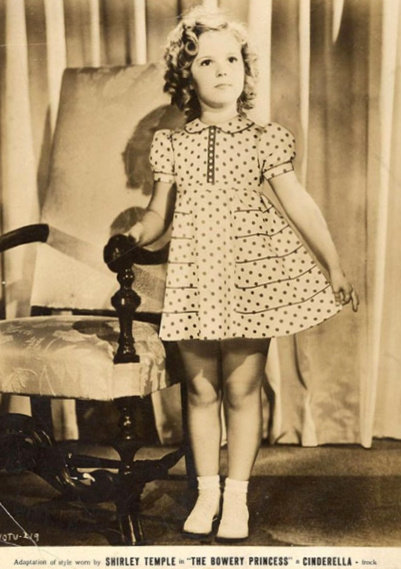 Fashionista Friday Shirley Temple On Pins And Needles