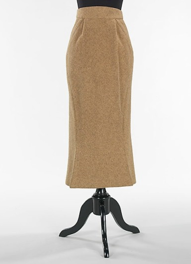 James, Charles. Wool skirt manufactured by William Popper, 1952. Part of the Brooklyn Museum Costume Collection at The Metropolitan Museum of Art, accession number 2009.300.821.