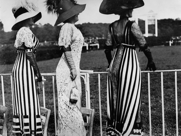 Jacques Henri Lartigue, At the Auteuil Races, 1912, Reproduced in Jacques-Henri Lartigue. Diary of a Century. New York: Viking Press, 1970.