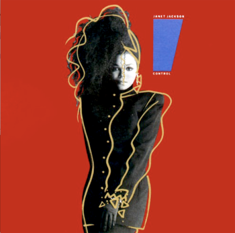 Portrait of Janet Jackson 'Control' By Tony Veramontes 1986