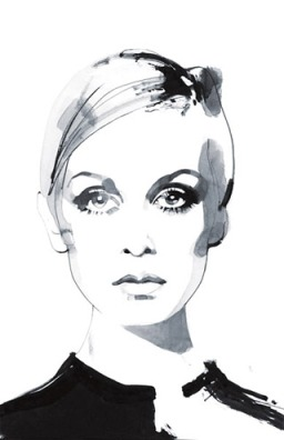 Twiggy by David Downton