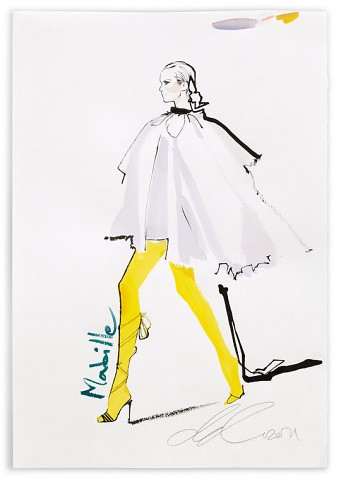 David Downton – Alexis Mabille / Paris Coture July 2011