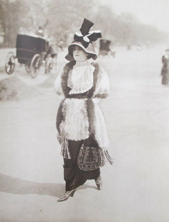 Jacques Henri Lartigue, Along the Bois de Boulogne, Early 1910s, Reproduced in Jacques-Henri Lartigue. Diary of a Century. New York: Viking Press, 1970.
