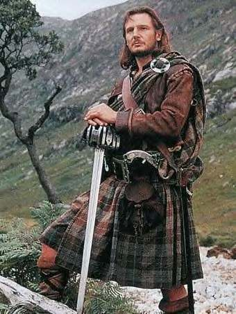 "Liam Neeson in ""Rob Roy"" (Courtesy of United Artists)"