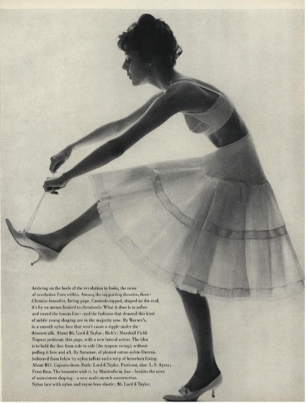 Jerry Schatzberg, Shape Revolution—From Within, Vogue, May 1, 1958, 179.