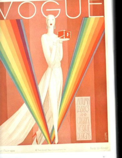 Illustrated cover of Vogue Magazine by Eduardo Garcia Benito – 1926