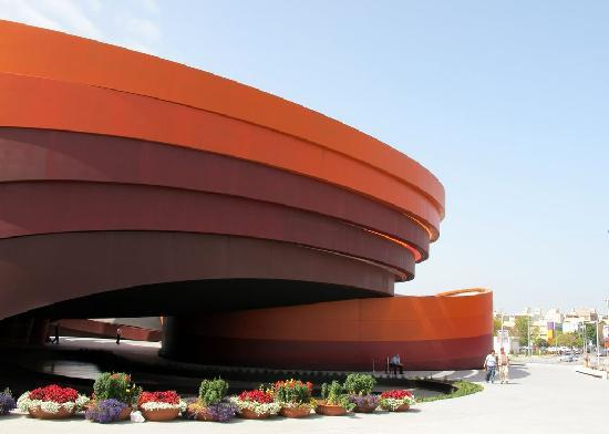 Design Museum Holon, designed by Ron Arad