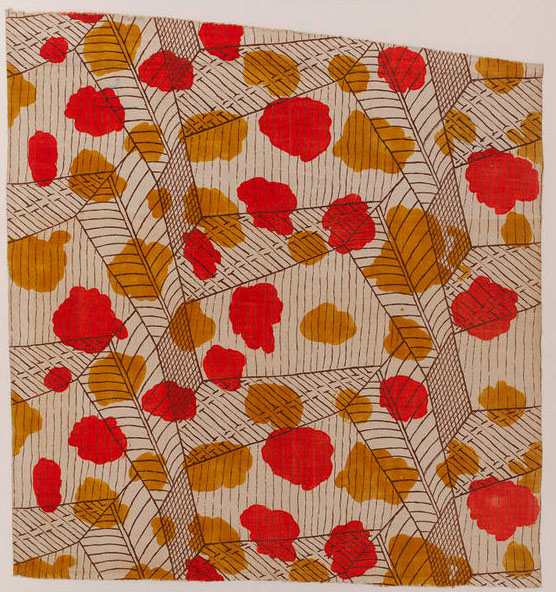 Bell, Vanessa. White, 1913. Printed linen. Accession number T.242-1931 at the Victoria and Albert Museum.