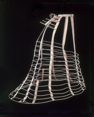 Cage Crinoline, 1868. Victoria & Albert Museum
