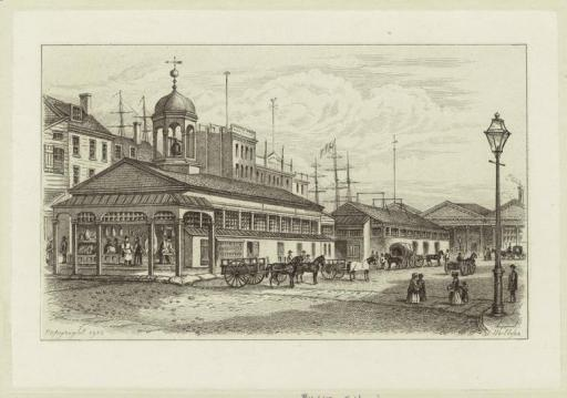 Catherine Market, 1850.  NYPL Digital Gallery.