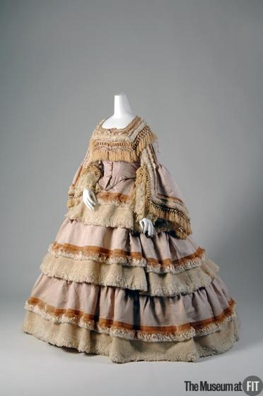Two Piece Dress, c. 1859. The Museum at FIT.