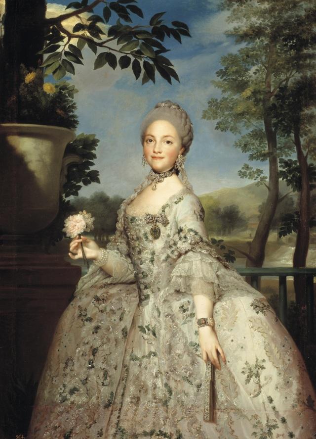 Marie Louise de Parma. Anton Raphael Mengs.