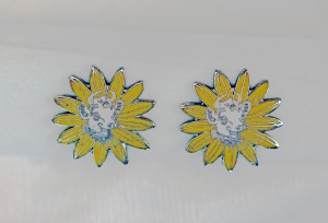 Borden earrings from Jane Merrill's private collection