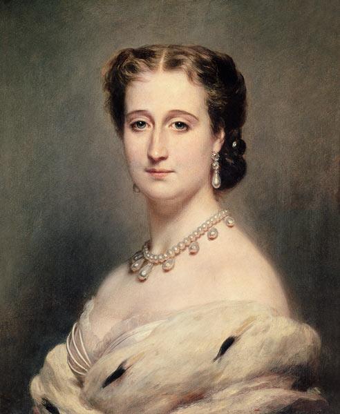 Portrait of Empress Eugenie. Frantz Winterhalter.
