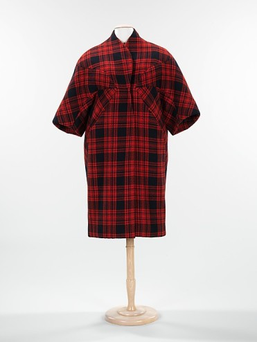 "Charles James. ""Great"" wool coat, c. 1961. Accession number 2009.300.451 at the Metropolitan Museum of Art."