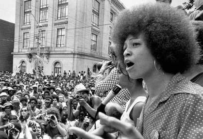 Angela Davis of the The Black Panthers Party